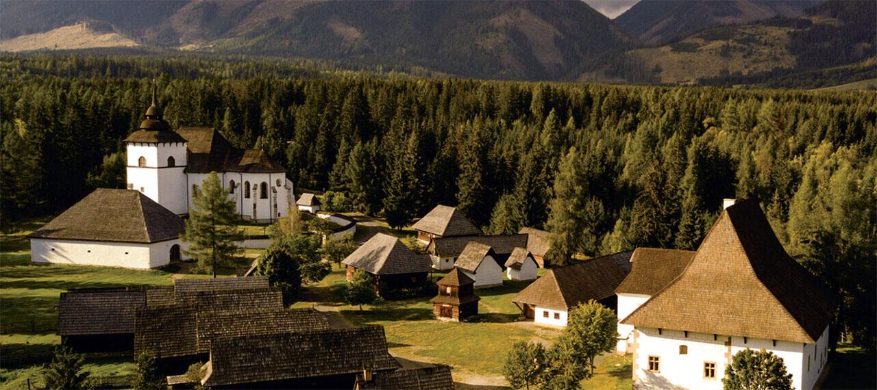 Skanzen Pribylina - Múzeum liptovskej dediny Pribylina