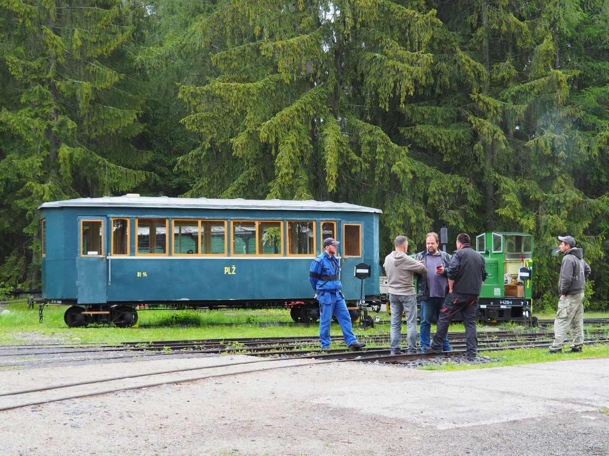 Slávnostné otvorenie Považskej lesnej železnice